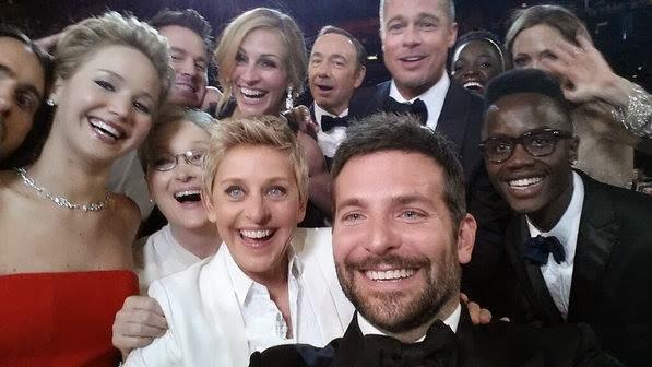 Selfie Elle DeGeneres festa oscar 2014