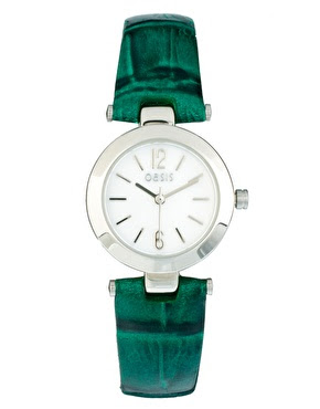 Oasis green watch