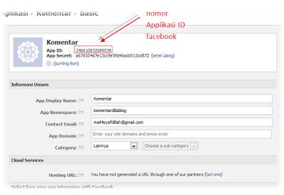 Cara Buat Komentar Facebook Di Blog