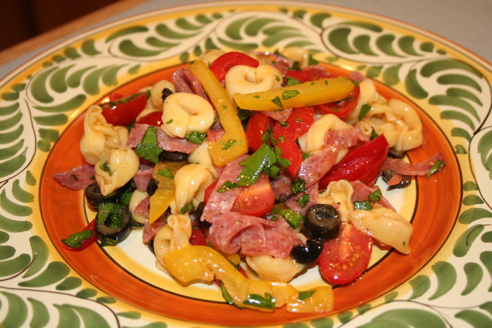 Antipasto Tortellini Salad - Susan Wong's Salad Collection