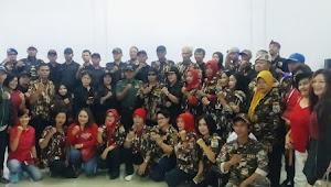 Keluarga Besar Bravo Hit'z Sambut Tahun Baru Imlek 2571 Bersama Ratusan OKP