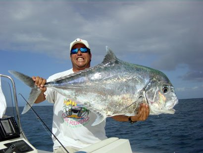 The pine island angler vieques bonefishing with capt for Florida pompano fish