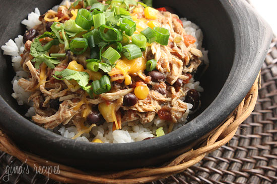 Slow Cooker Santa Fe Chicken from Skinnytaste via Slow Cooker from ...