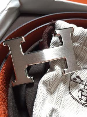 Hermes Reversible Belt