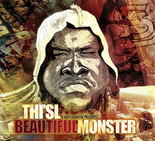 Thi'sl album cover for Beautiful monster