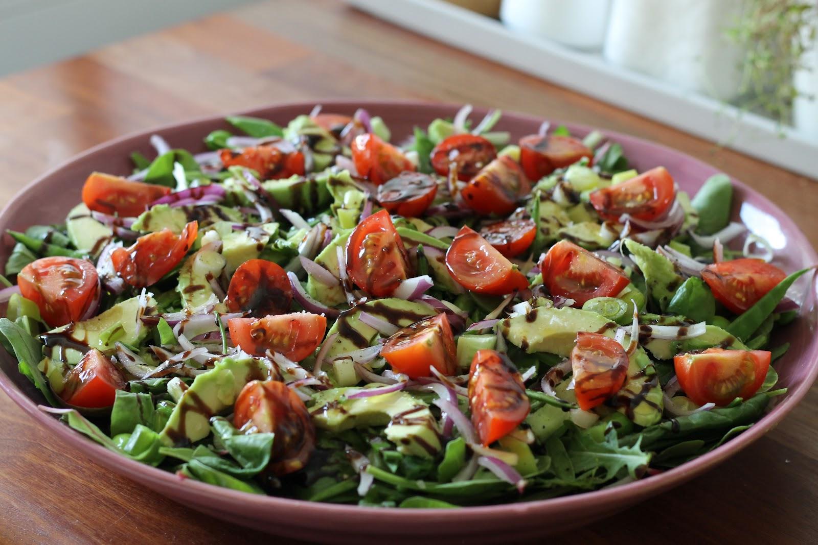 Gröna linser sallad recept