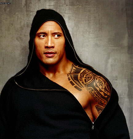 : The Rock Tattoos - WWE Superstar Dwayne Johnson Tattoo Pictures