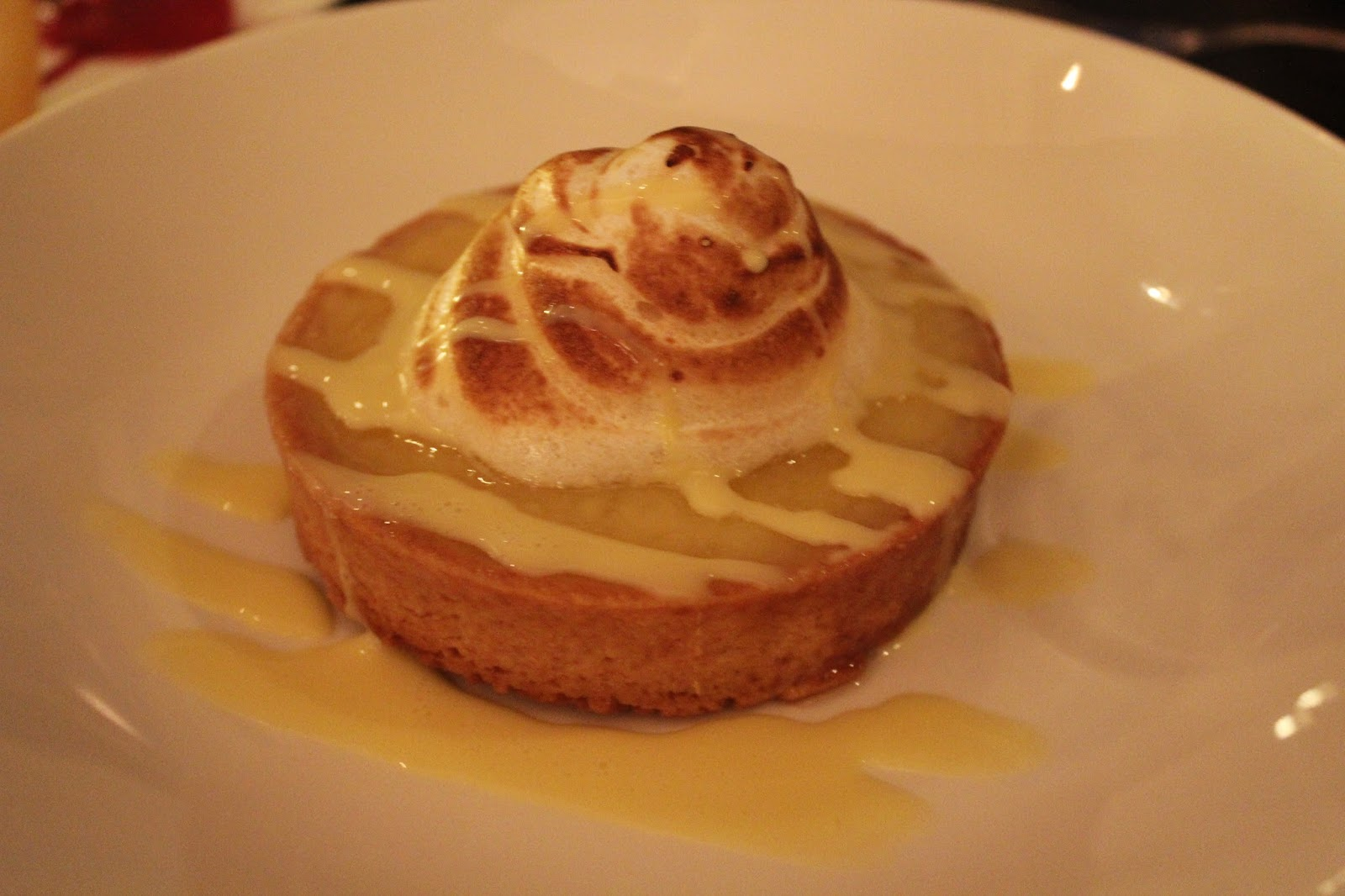 Lemon meringue pie at Chopps American Bar and Grill, Burlington, Mass.