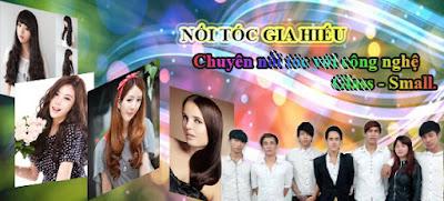 Noi toc Gia Hieu free uon duoi nhuom bam phong moc light