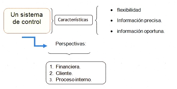 Sistema de control en la organización.