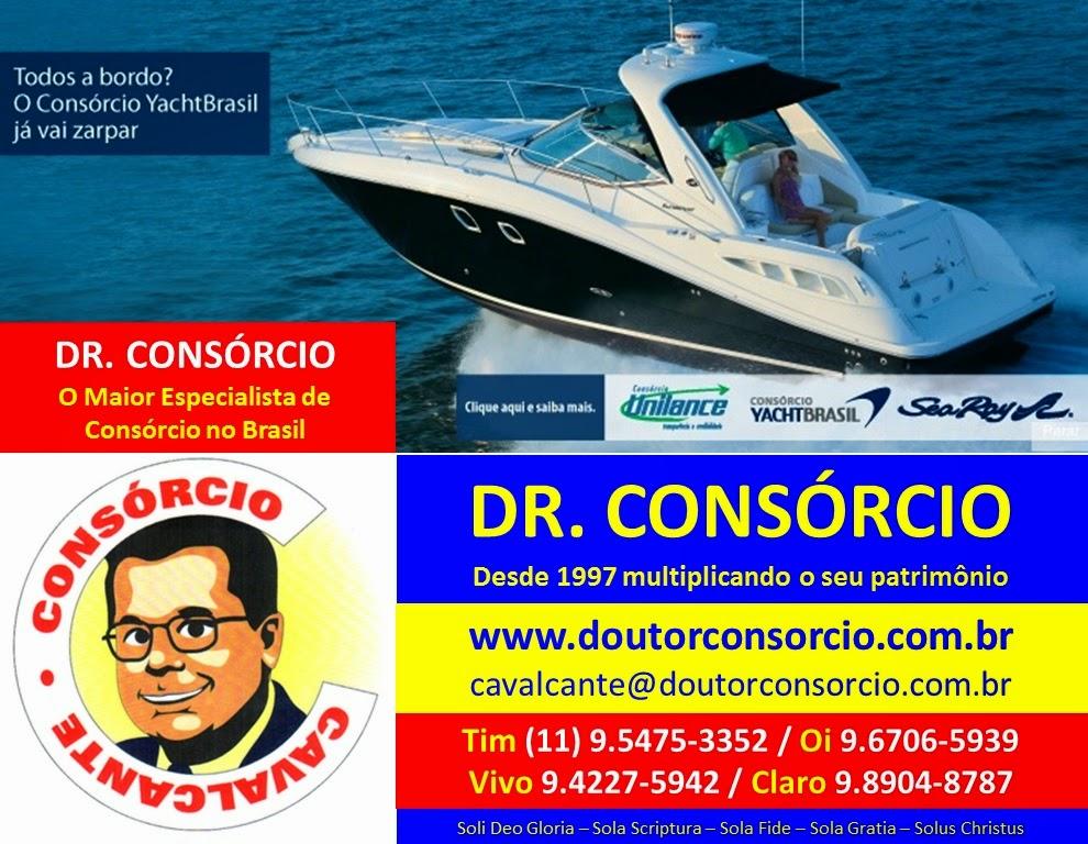 Embarcação e Yacht é com o Dr. Consórcio.