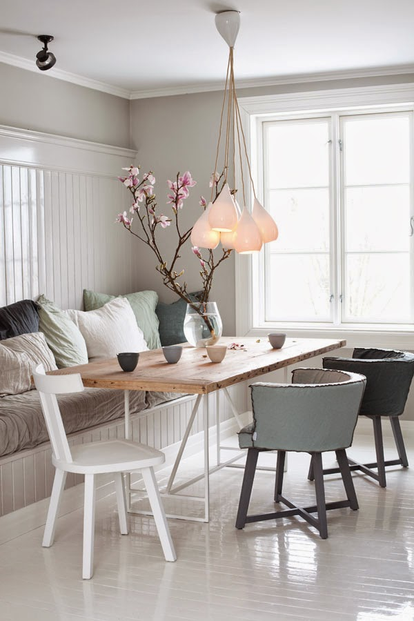 SCANDIMAGDECO Le Blog: Maison romantique dans un style scandinave
