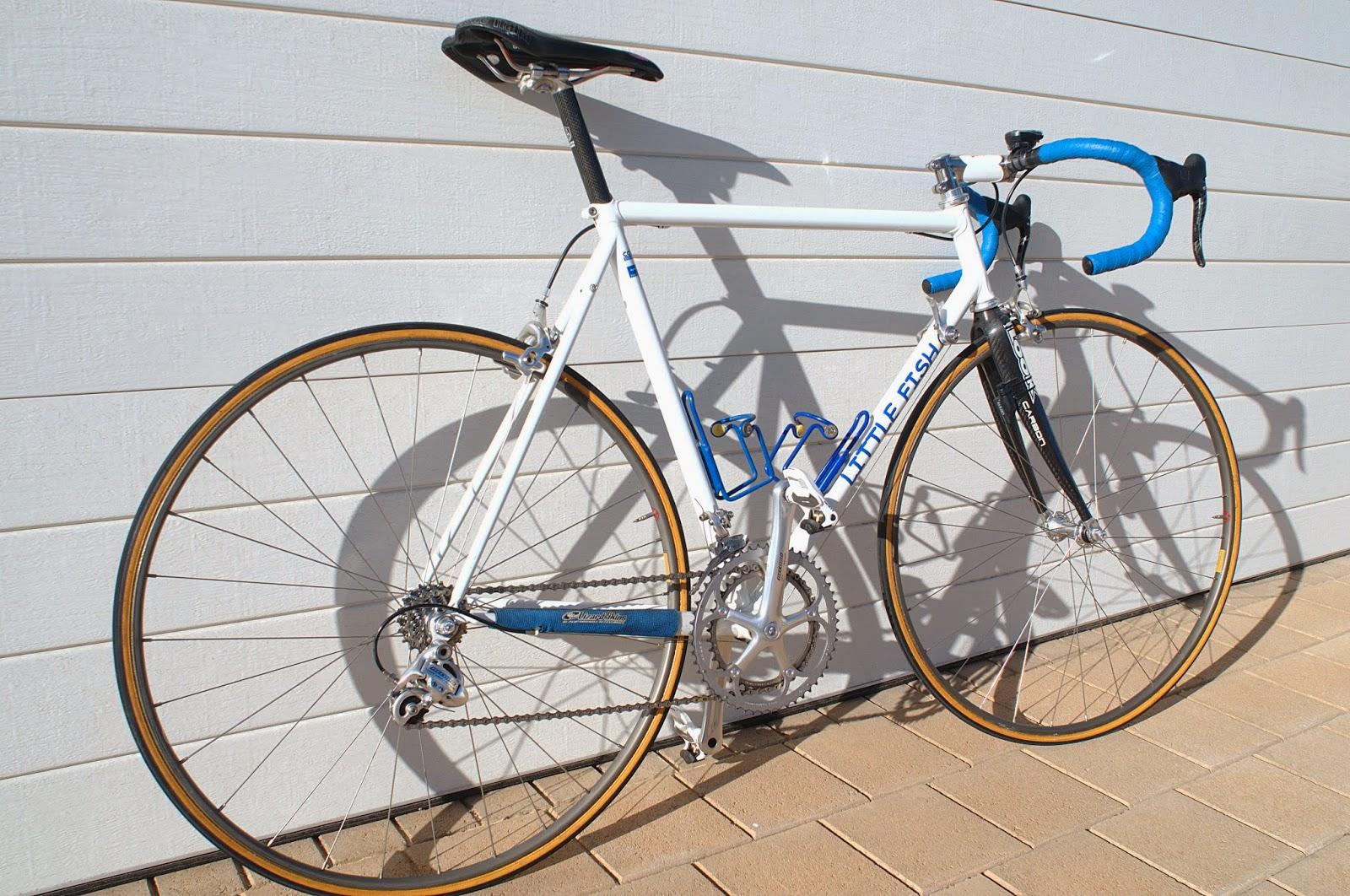 Suzy\'s Blog: Building again - a Genius racebike