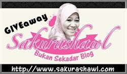 giveaway  'SAKURAshawl'