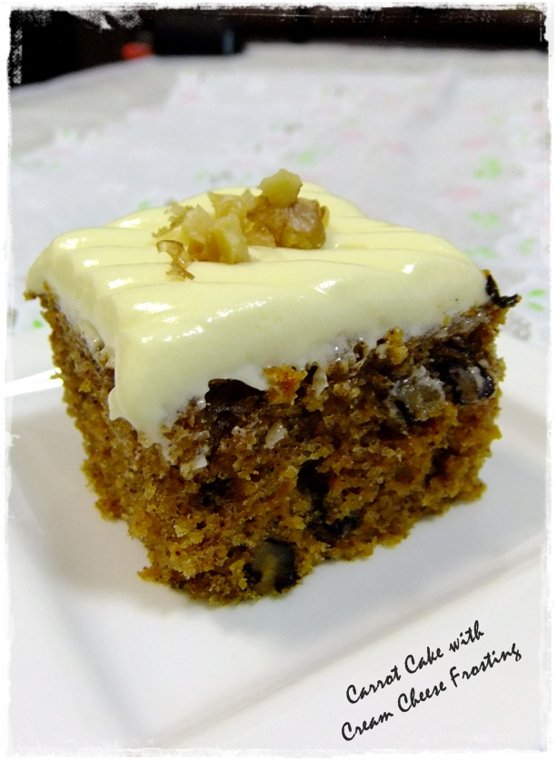 Tested Tasted Carrot Cake With Cream Cheese Frosting