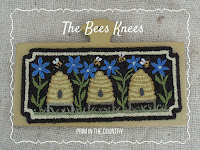The Bee's Knees Punch Needle Pattern $7.00