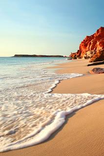 Beach Shore iPhone Wallpaper