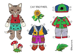 Link to Cat Brother Paper Dolls.