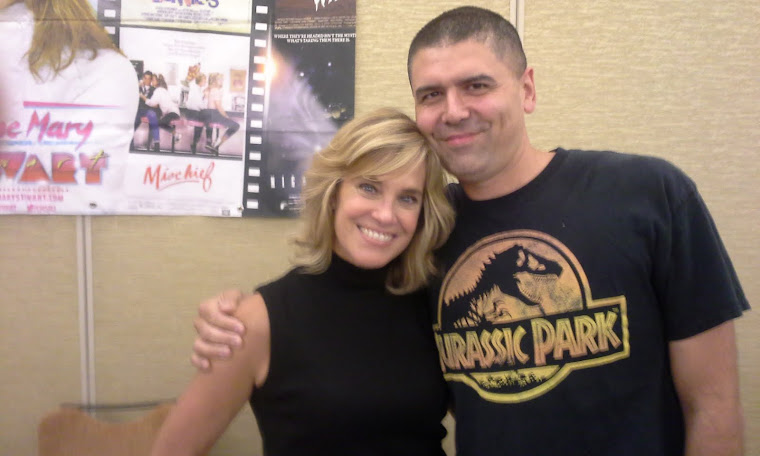 Me with Catherine Mary Stewart