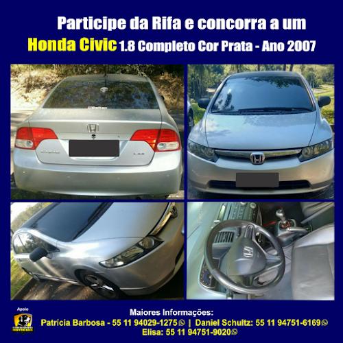 Honda Civic Completo 2007 - Participe da Rifa!