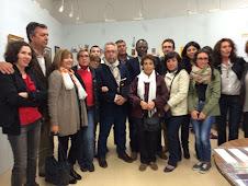 """Inauguración de la EXPOSICIÓN """"PINCELADAS DEL GRECO"""" en BARGAS (Toledo), el 25 de Abril de 2014."""
