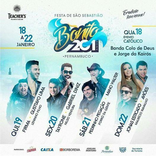 201ª Festa de São Sebastião de Bonito