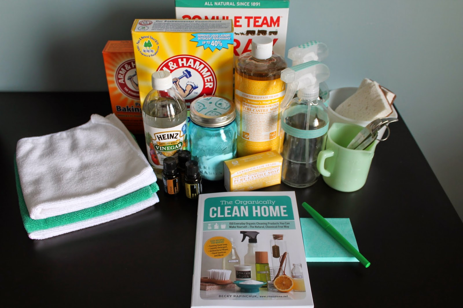 Cleaning Caddy essential via Clean Mama    OrganizingMadeFun com. Having an Organically Clean Home   Organizing Made Fun  Having an