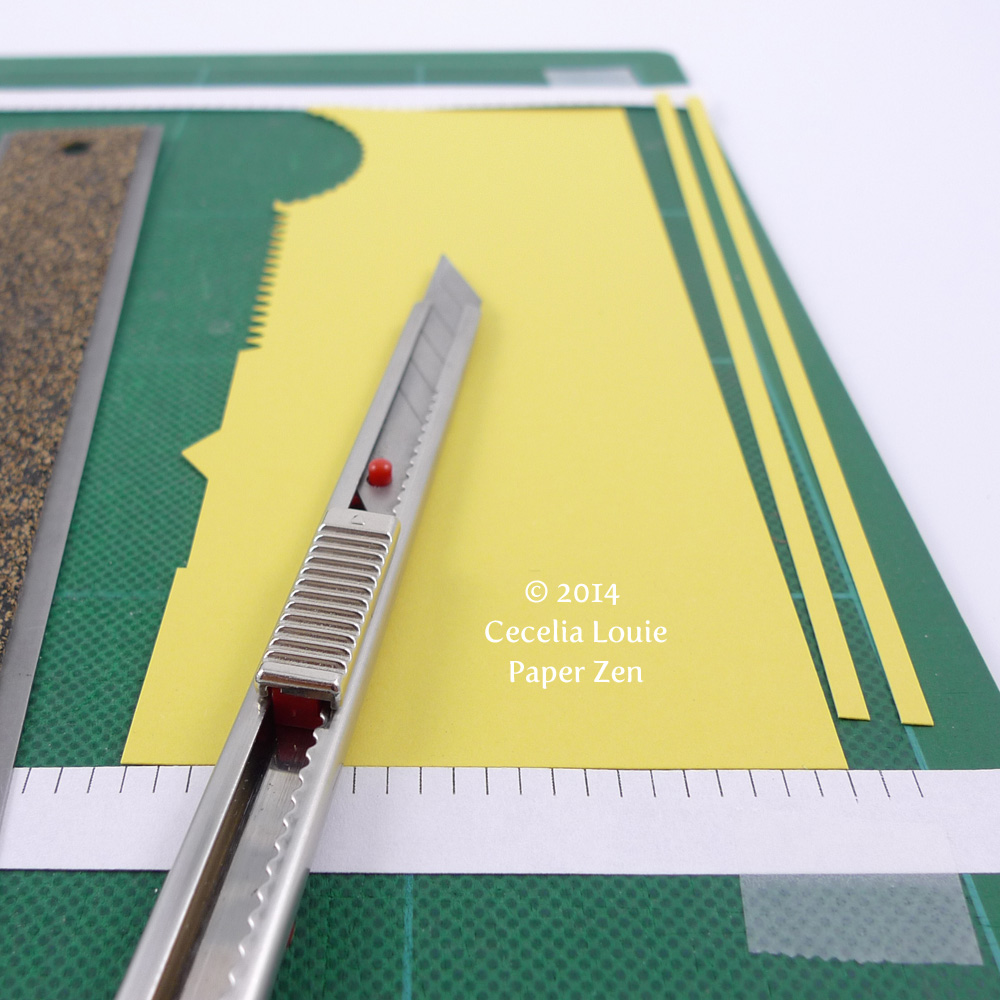 Paper zen diy quilling strips tutorial with free files for How to use quilling strips