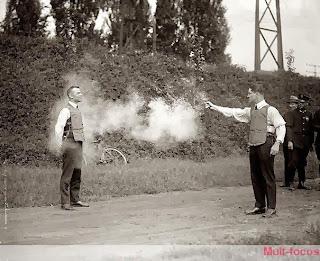 teste de colete à prova de bala