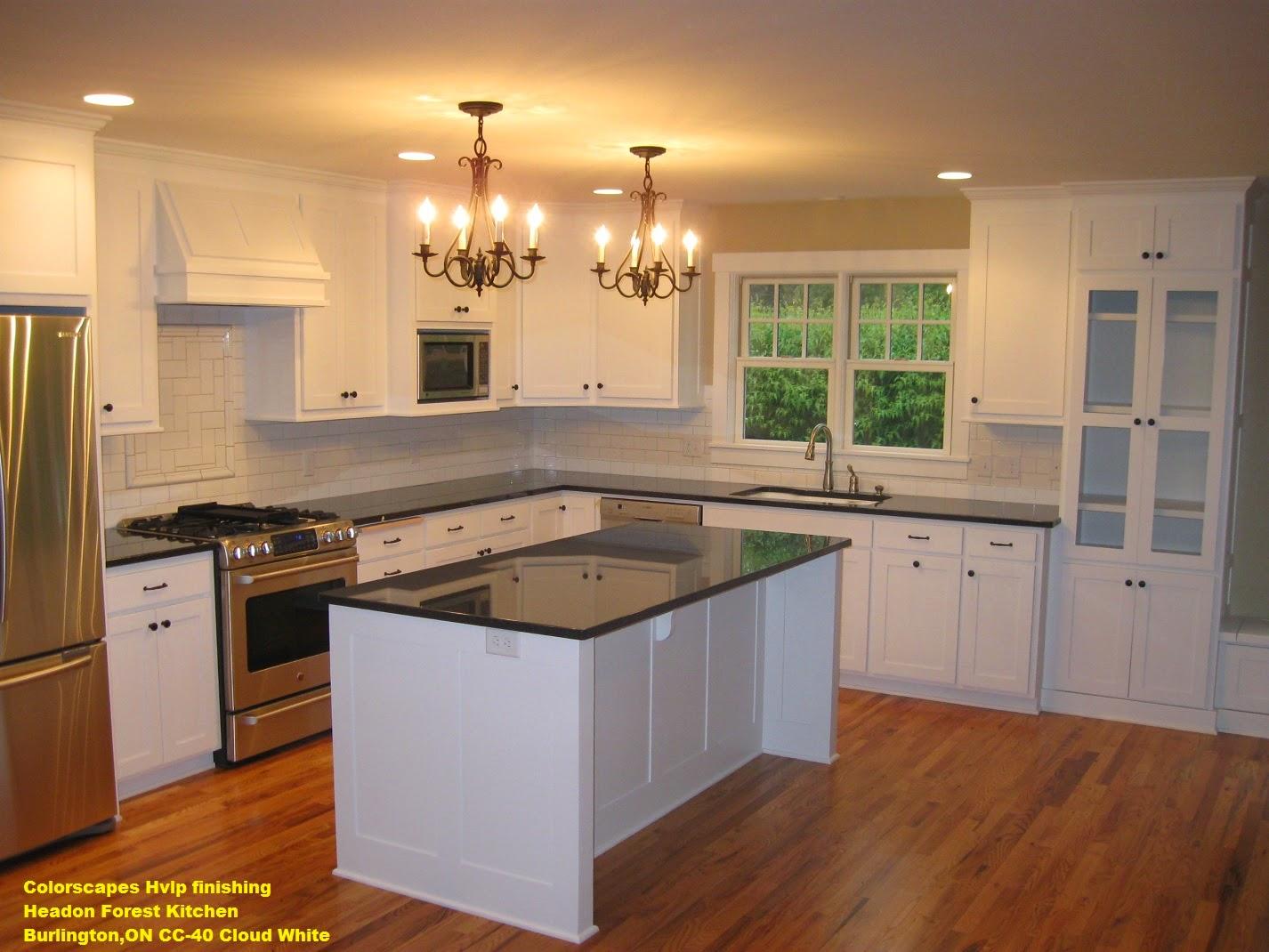 Kitchen Cabinets Burlington Ontario Colorscapes Professional Painting Headon Forest Kitchen Cloud