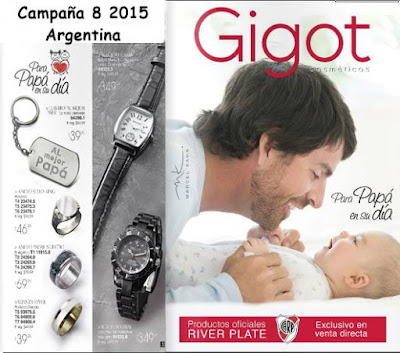 libro Gigot Campaña 8 2015 Argentina