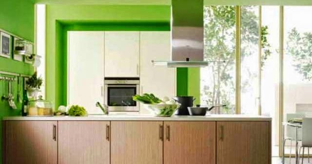 How to choose the right kitchen wall painting color - Suitable colors kitchen energy ...