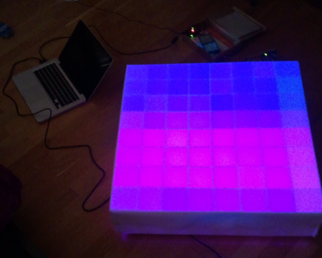 8×8 Coffee Table LED Matrix