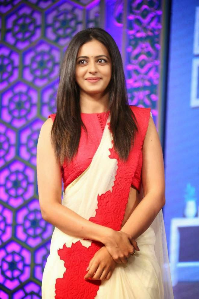 rakul preet singh saree photo