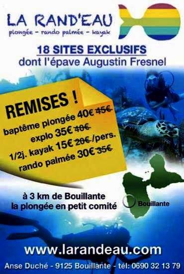Baptême plongée Guadeloupe