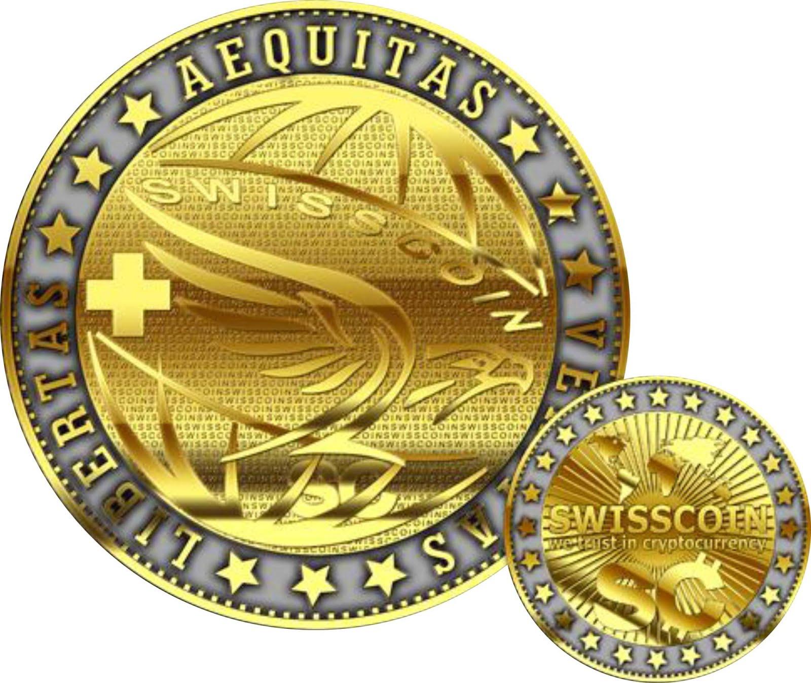 Монета Swisscoin