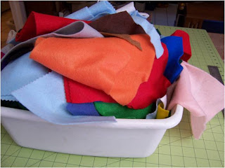 Art Threads Monday Project Scrap Felt Coasters And Trivets