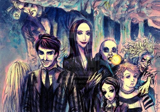 Addams Family por rinoatilmitt