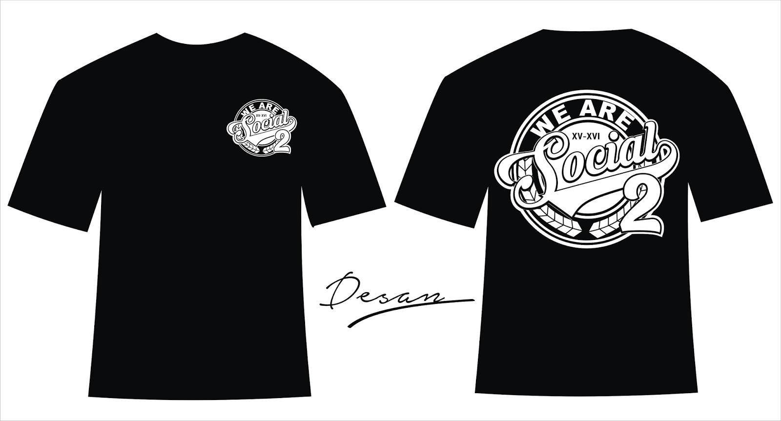 Contoh desain t shirt kelas - Desain Kaos Kelas Xii Ips 2