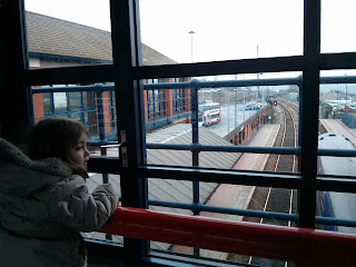 watching trains