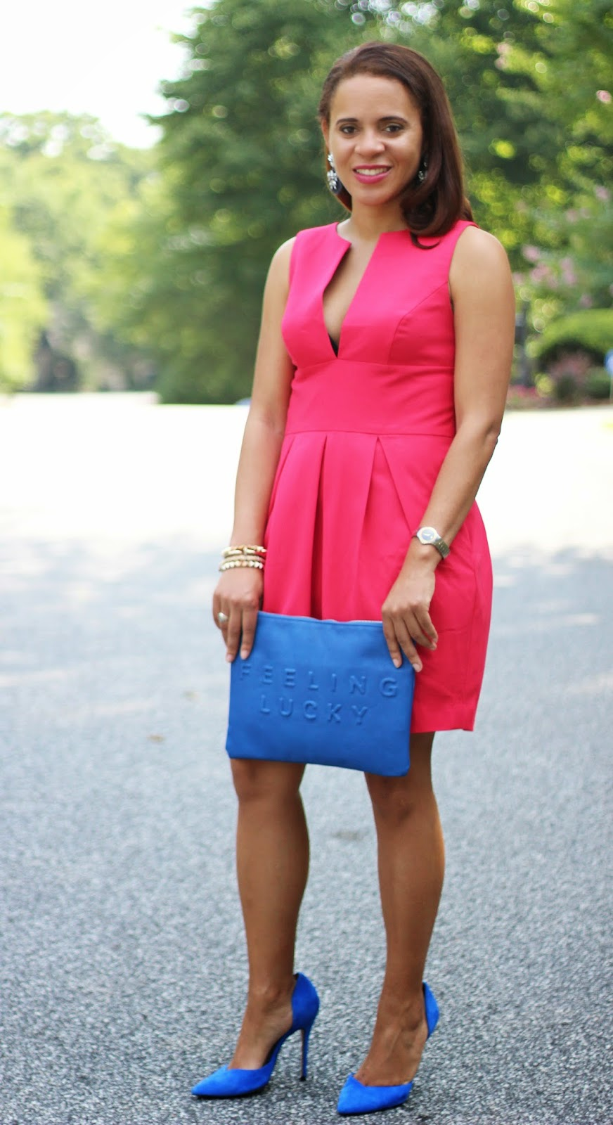 Blue-Zara-Clutch