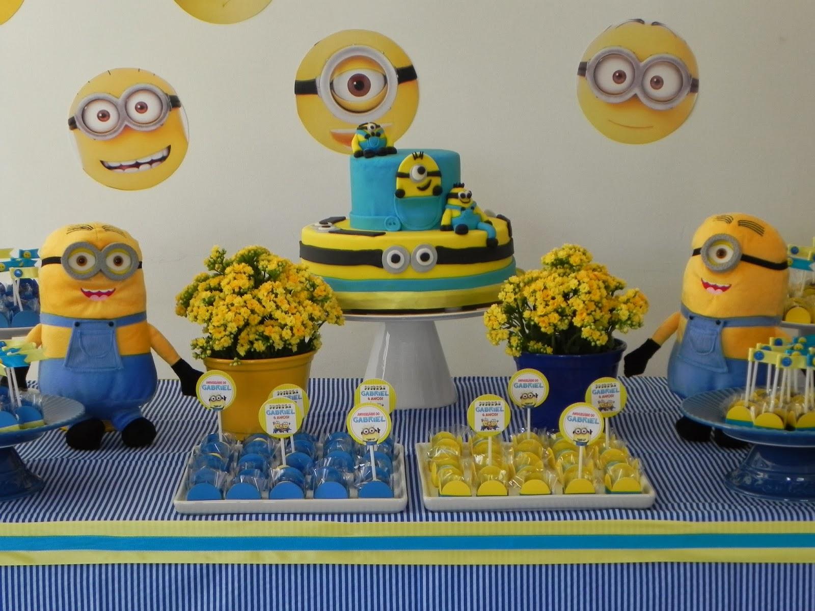 decoracao festa minions : decoracao festa minions:Festa Minions
