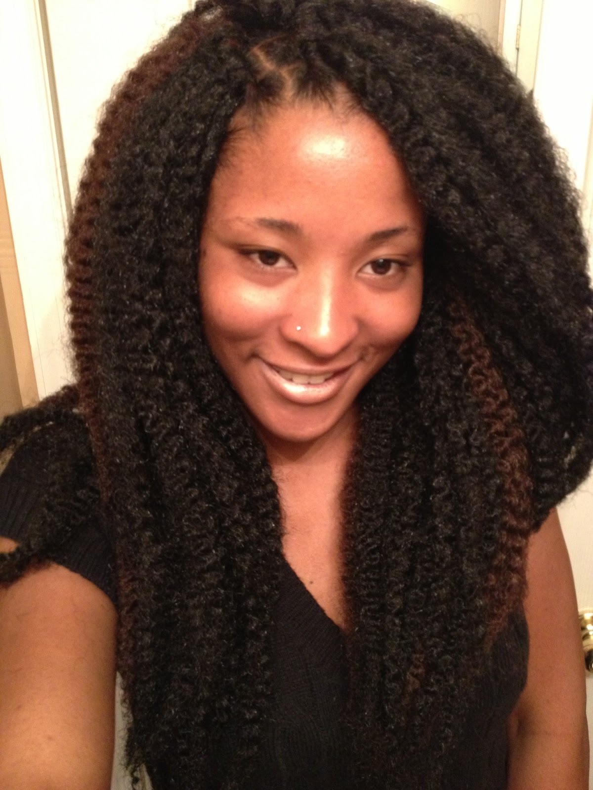 Crochet Hairstyles Using Marley Hair : ... it begins hair.: Versatility of Locs: Marley Hair Extensions