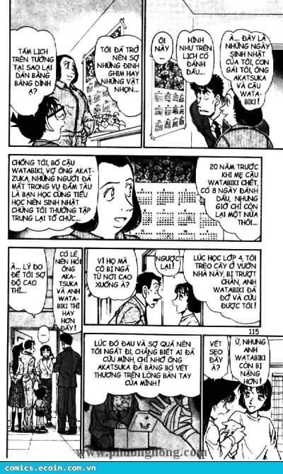 Detective Conan - Thám Tử Lừng Danh Conan chap 497 page 9 - IZTruyenTranh.com
