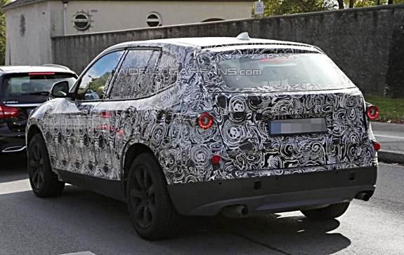 2017 BMW X3 early prototype spied in southern Germany