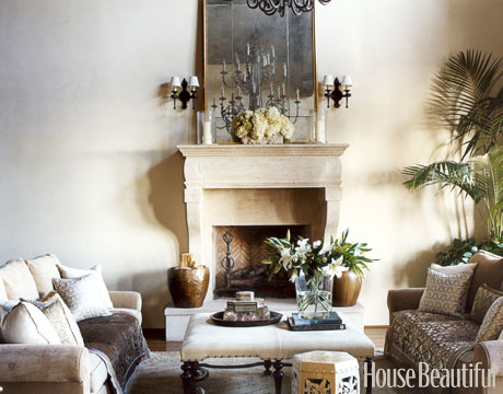 50 Favorite Attainable House Beautiful Designer Living Rooms Thursday August 16 2012
