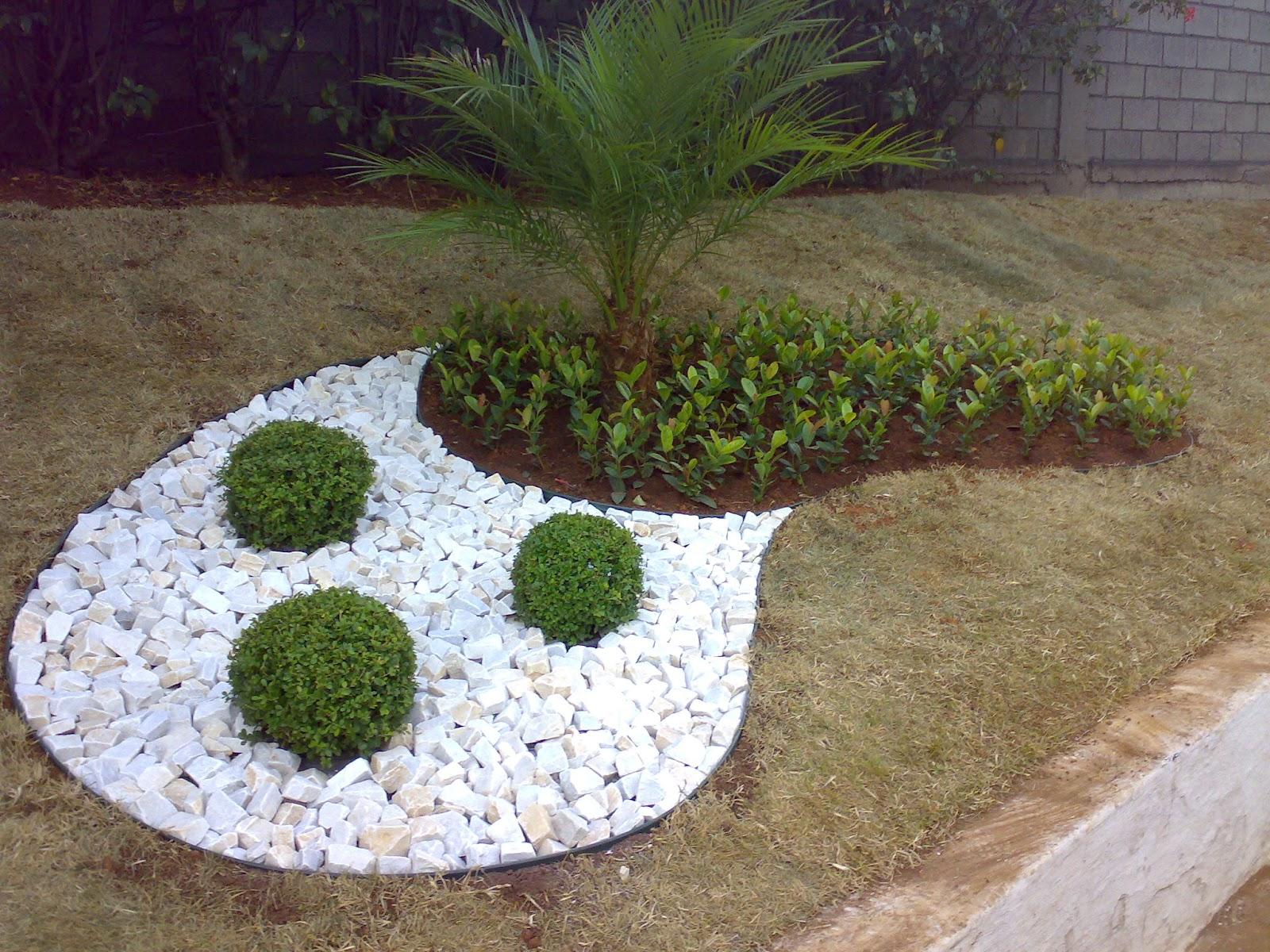 pedras de jardim branca : pedras de jardim branca:Jardinagem: Jardim daUnimetal