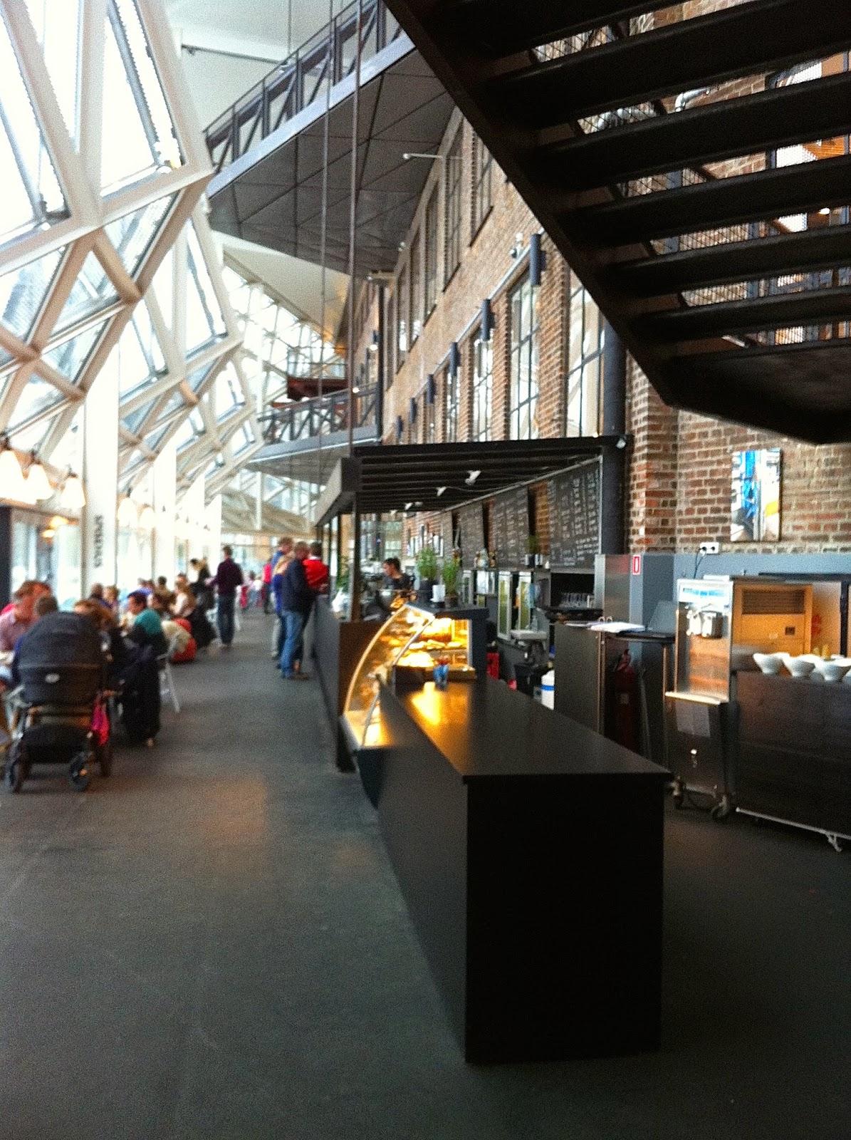 inside the culture yard in helsingor