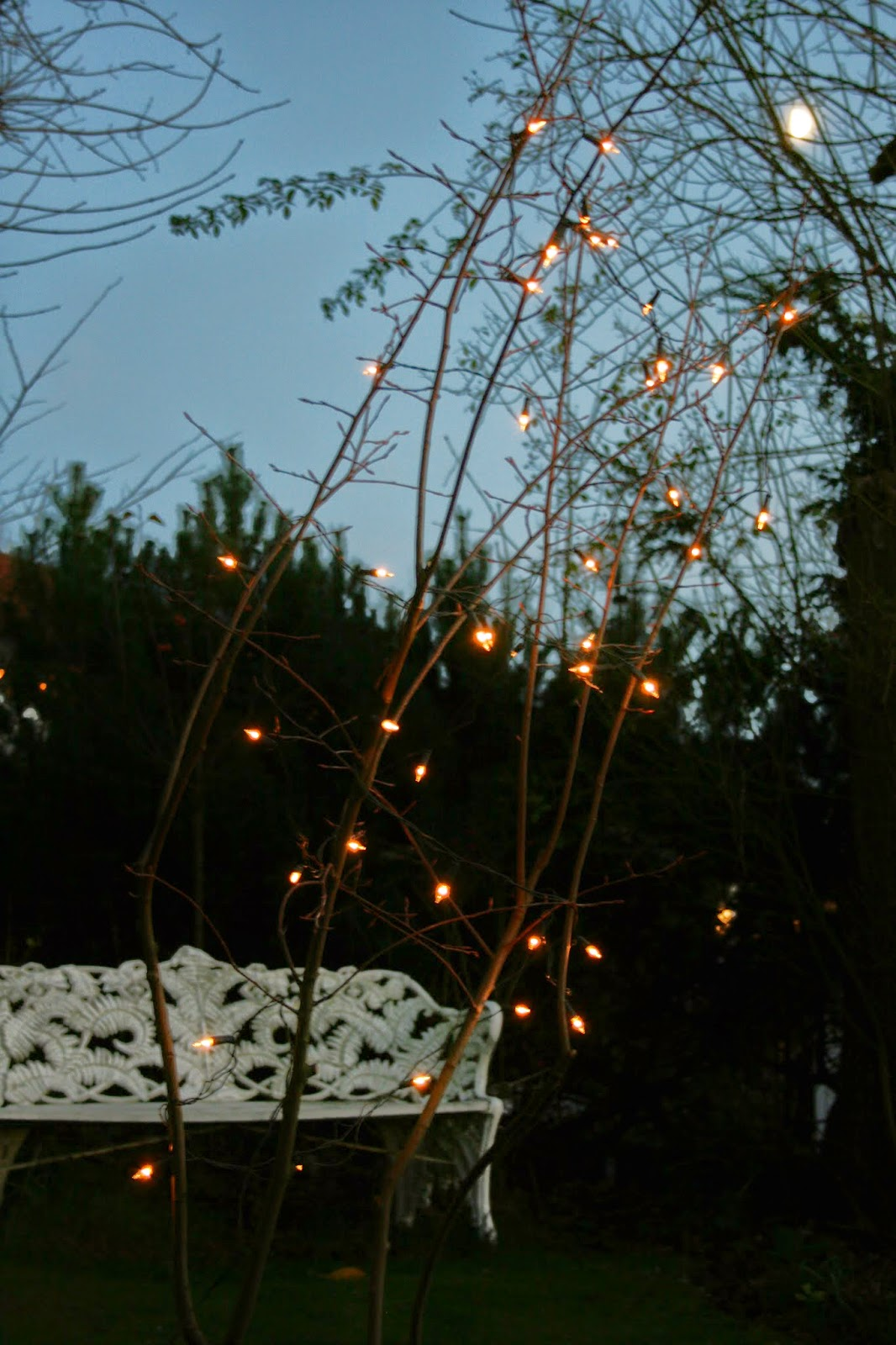 utomhus ljusslinga