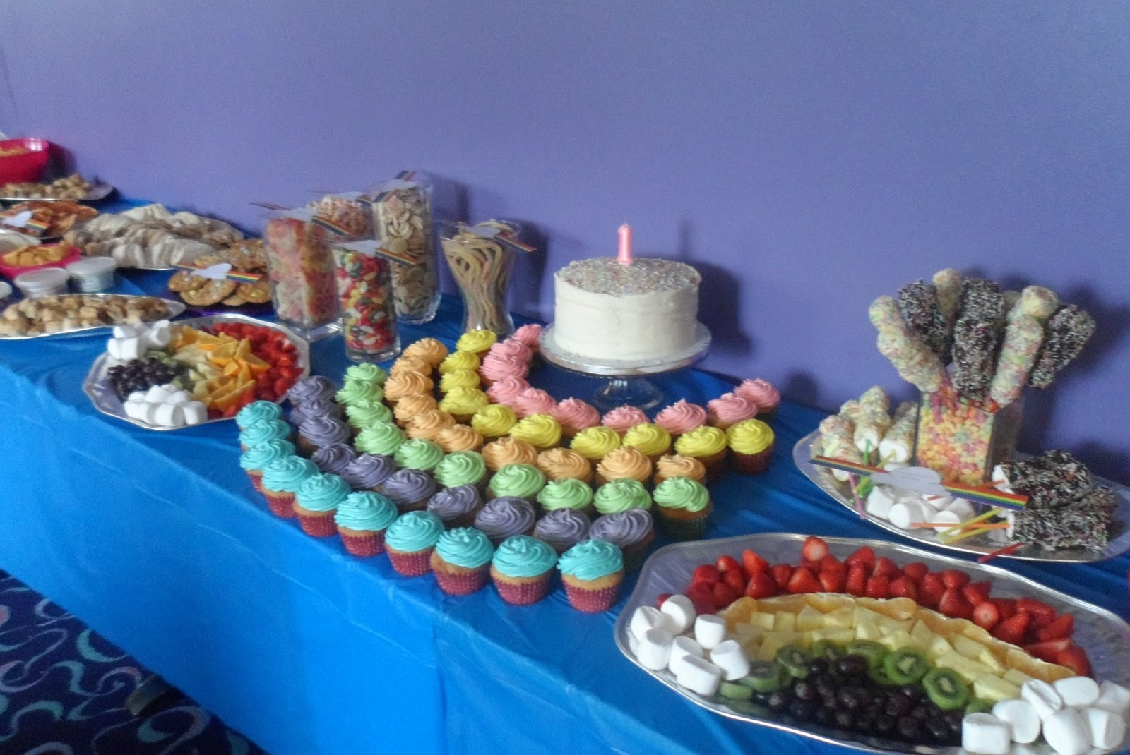 How To Throw A Rainbow First Birthday Party